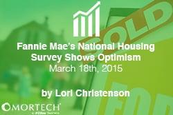 Fannie Mae's National Housing Survey