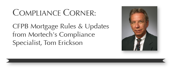 Tom Erickson Compliance Corner