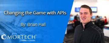 Changing the Game with APIs by Brian Hall