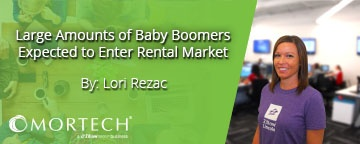 Baby Boomers competing in rental market.
