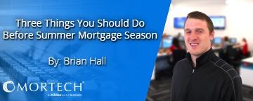 Mortgage quote seasonality   mortgage application process   mortgage APIs