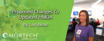 Proposed changes to updated HMDA