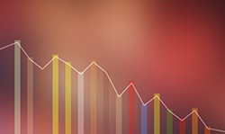 Rates dip, but stocks pull back last week in investment news.