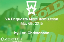 VA Requests More Itemization