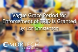 Grace Period for TRID is Granted