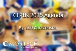 Lori Christenson CFPB'S 2015 Agenda