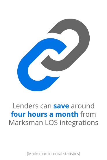 Lenders can save around 4 hours a month